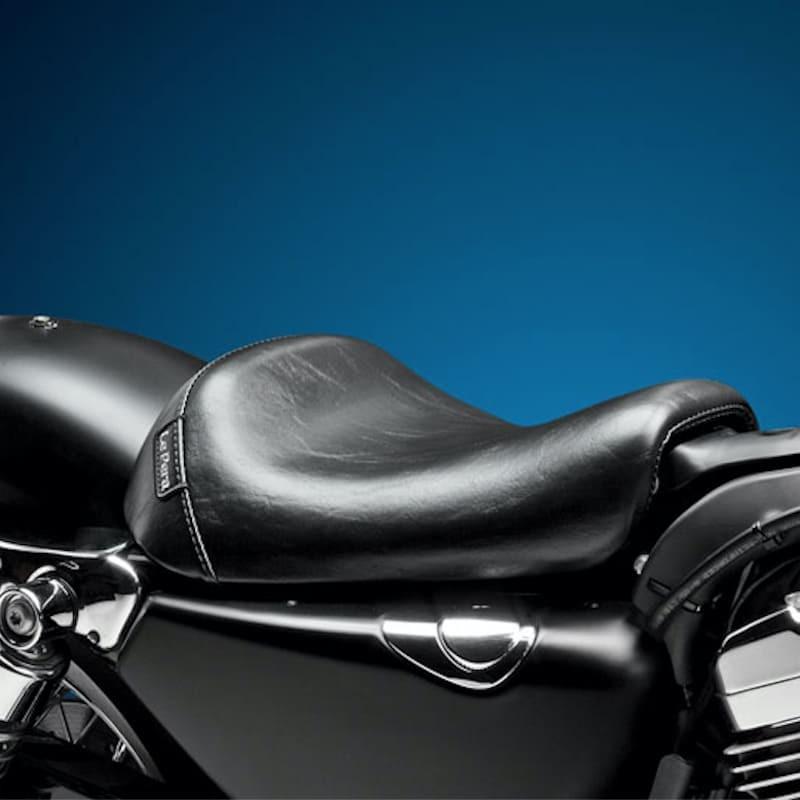 SELLA LE PERA BARE BONES SMOOTH SEAT HARLEY SPORTSTER XL 1200 10-21