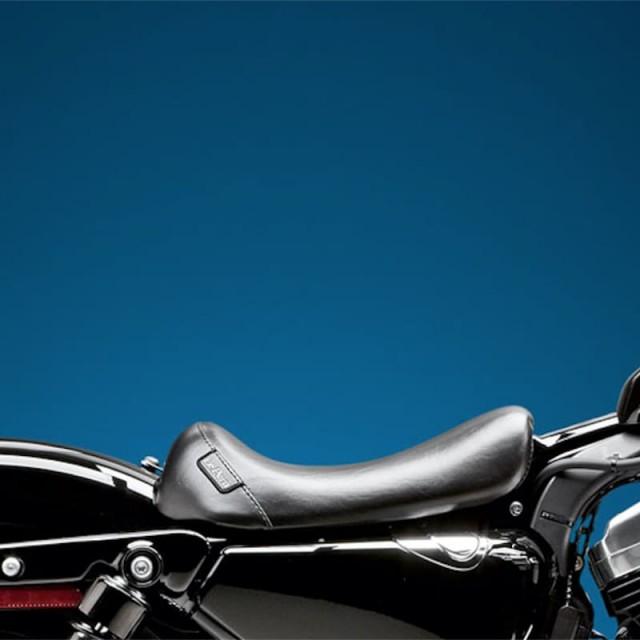 SELLA LE PERA BARE BONES SMOOTH SEAT HARLEY SPORTSTER XL 1200 10-21 - LATO