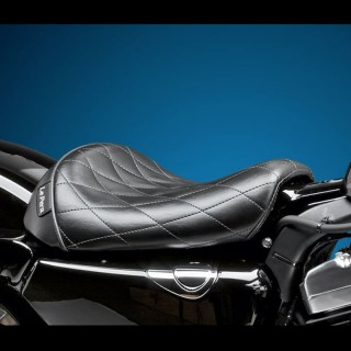 LE PERA BARE BONES DIAMOND SEAT HARLEY SPORTSTER XL 1200