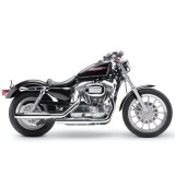 LE PERA BARE BONES SMOOTH SEAT HARLEY SPORTSTER XL 04-21 3,3 - HD