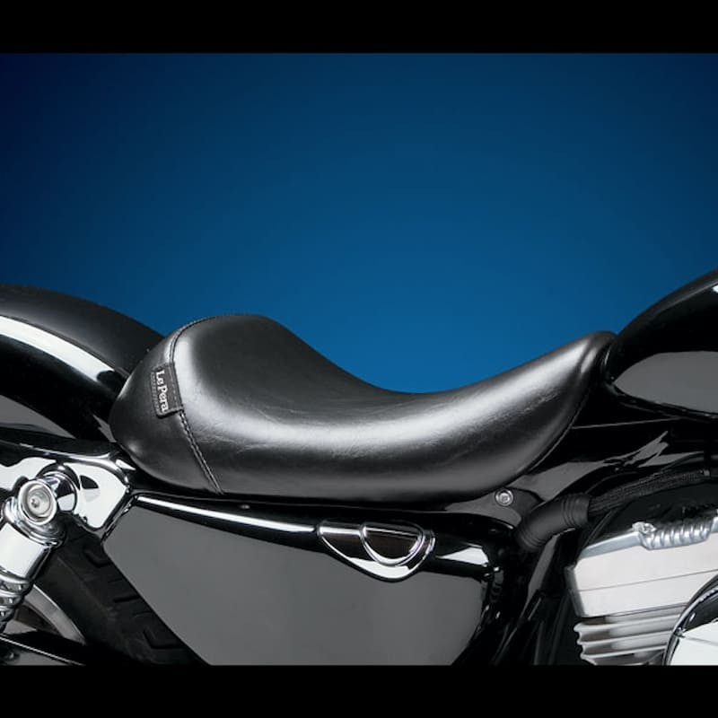 LE PERA BARE BONES SMOOTH SEAT HARLEY SPORTSTER XL 04-21 3,3