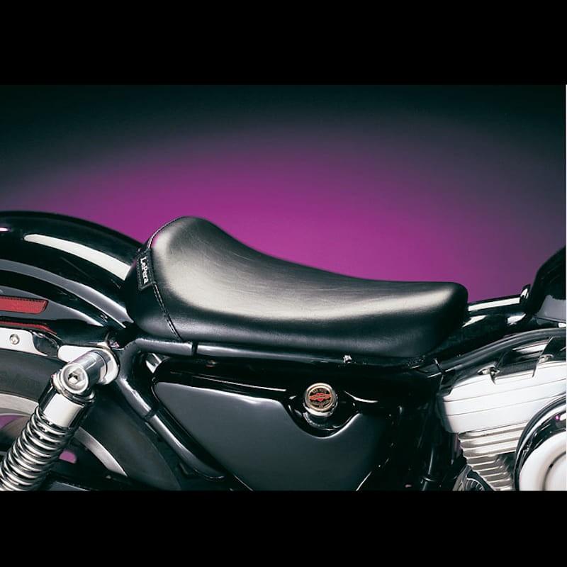 SELLA LE PERA BARE BONES BIKER GEL SMOOTH SEAT HARLEY SPORTSTER XL