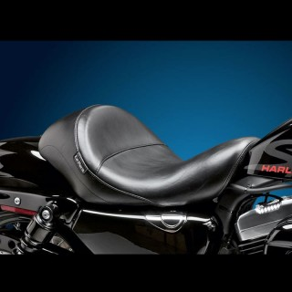 LE PERA AVIATOR SMOOTH SOLO SEAT HARLEY SPORTSTER XL 3,3
