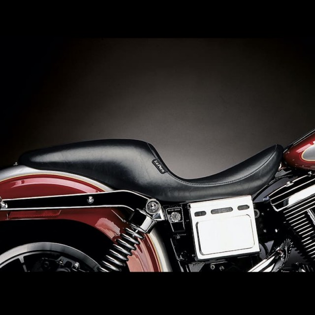 SELLA LE PERA SILHOUETTE UP FRONT SMOOTH SEAT HARLEY DYNA