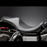 SELLA LE PERA VILLAIN 2-UP SMOOTH SEAT HARLEY DYNA