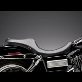 SELLA LE PERA VILLAIN 2-UP SMOOTH SEAT HARLEY DYNA - LATO