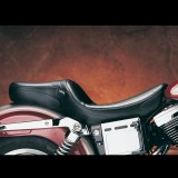 LE PERA MAVERICK 2-UP STITCH SEAT HARLEY DYNA - SIDE
