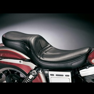 SELLA LE PERA MAVERICK 2-UP STITCH SEAT HARLEY DYNA