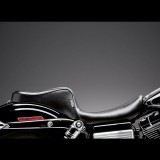LE PERA CHEROKEE 2 UP SMOOTH SEAT HARLEY DYNA - SIDE
