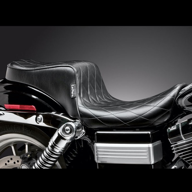 SELLA LE PERA CHEROKEE 2 UP DIAMOND SEAT HARLEY DYNA WIDE GLIDE