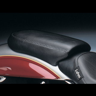 SELLINO LE PERA SILHOUETTE SMOOTH PILLION PAD HARLEY DYNA WIDE GLIDE