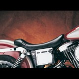 SELLA LE PERA SILHOUETTE SOLO SMOOTH SEAT HARLEY DYNA - SIDE