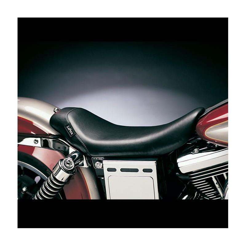 LE PERA BARE BONES SOLO SMOOTH SEAT HARLEY DYNA WIDE GLIDE