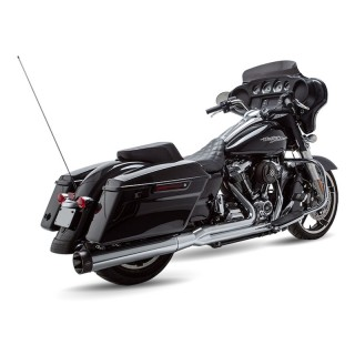 S&S SIDEWINDER 2-IN-1 CHROME EXHAUST SYSTEM HARLEY TOURING