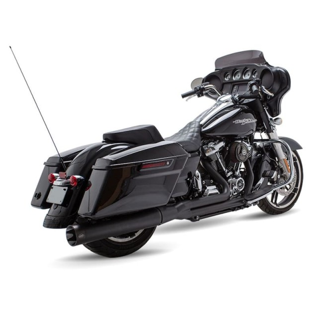 S&S SIDEWINDER 2-IN-1 BLACK EXHAUST SYSTEM HARLEY TOURING