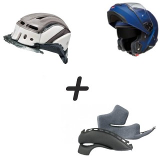 MODULAR MOTORCYCLE HELMET FULL REGENERATION