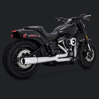 SCARICO VANCE & HINES PRO PIPE CROMO PER HARLEY SOFTAIL 2018-2020