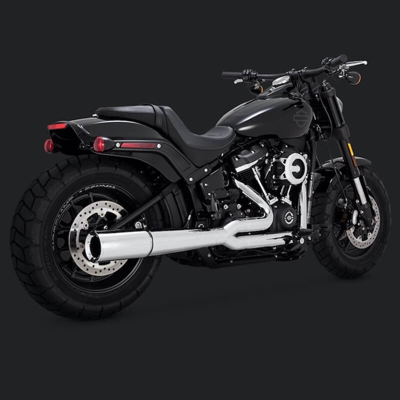 SCARICO VANCE & HINES PRO PIPE CROMO PER HARLEY SOFTAIL 2018-2021