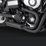 VANCE HINES COMPETITION SERIES 2-IN1 BLACK EXHAUST DYNA 2006-2017 - DETAIL
