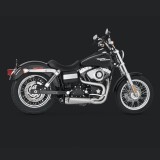 VANCE HINES COMPETITION SERIES 2-IN1 EXHAUST DYNA 2006-2017 - SIDE
