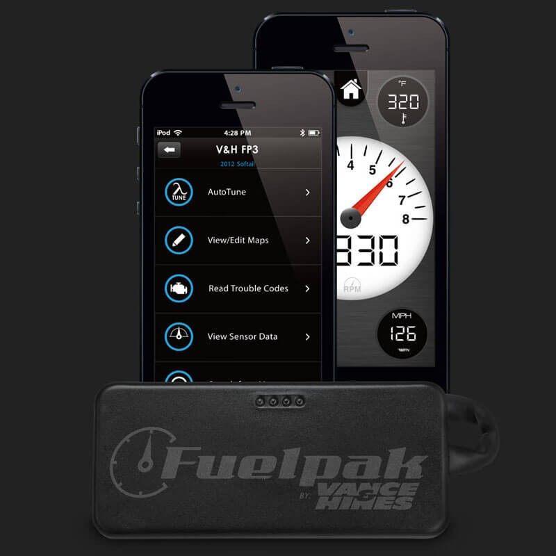 FUEL MANAGEMENT MODULE VANCE&HINES FUELPAK FP3 CAN BUS(6-PIN) FOR HARLEY DAVIDSON