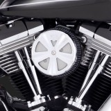CHROME SKULLCAP CROWN FOR VANCE HINES VO2 AIR CLEANER
