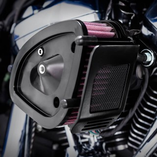 VANCE HINES VO2 NAKED AIR INTAKES FILTER FOR HARLEY TOURING 2017-2021