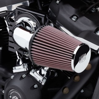 COBRA CONE AIR INTAKE CHROME FOR HARLEY TOURING 2017-2020