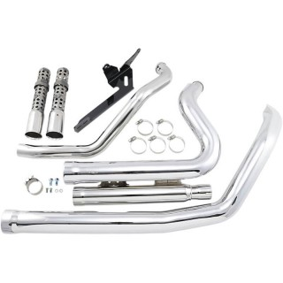 COBRA SPEEDSTER SHORT 909 CHROME EXHAUST FOR HARLEY SPORTSTER XL 2007-2013