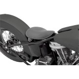 DRAG SPECIALTIES SMALL LOW PROFILE SPRING SOLO SEAT LEATHER BLACK