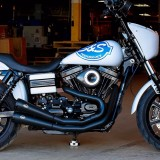 TEARDROP CARBON COVER FOR S&S STEALTH AIR CLEANER - HARLEY