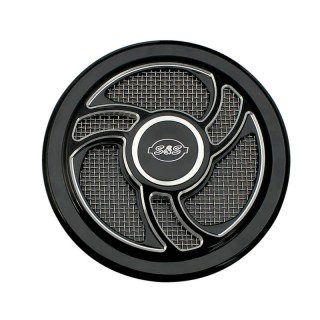 TORKER BLACK COVER FOR S&S STEALTH AIR CLEANERS