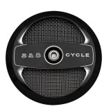 AIR 1 BLACK COVER FOR S&S STEALTH AIR CLEANERS