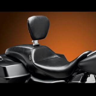 LE PERA OUTCAST SEAT WITH BACKREST HARLEY TOURING 2008-2021