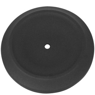 BOBBER DISHED BLACK COVER FOR S&S STEALTH AIR CLEANERS