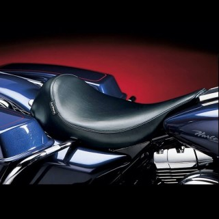 LE PERA SILHOUETTE SOLO SEAT HARLEY ELECTRA AND ROAD GLIDE 1997-2001