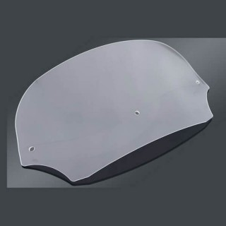 30,5cm CLEAR WINDSHIELD FOR MEMPHIS SHADES BATWING