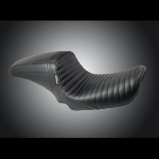 LE PERA KICKFLIP PLEATED SEAT HARLEY DYNA LOW RIDER-SUPER GLIDE 1996-2003