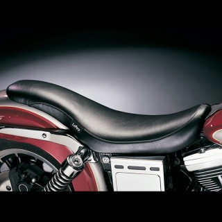 LE PERA KING COBRA SMOOTH SEAT HARLEY DYNA WIDE GLIDE 1996-2003