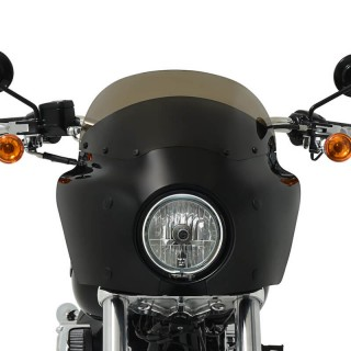 CAFE STYLE SMOKE WINDSHIELD FOR MEMPHIS SHADES ROAD WARRIOR FAIRING