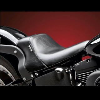 SELLA LE PERA BARE BONES UP FRONT SOLO SEAT HARLEY SOFTAIL 2000-2007