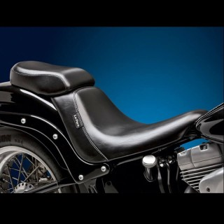 SELLINO LE PERA BARE BONES PILLION PAD HARLEY SOFTAIL 2006-2017