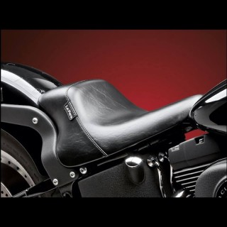 SELLA LE PERA BARE BONES UP FRONT SOLO SEAT HARLEY SOFTAIL 2008-2017