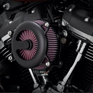 FILTRO ARIA VANCE HINES VO2 ROGUE AIR INTAKES NERO PER HARLEY TOURING 2017-2020