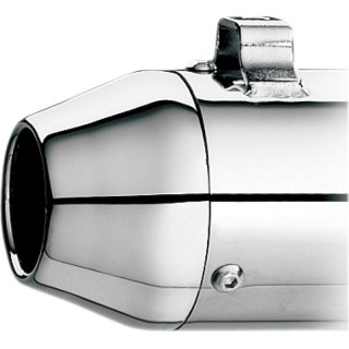 KERKER TAPERED CHROME END CAP FOR SUPERTRAPP MUFFLERS