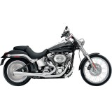 SUPERTRAPP SUPERMEG 2-IN-1 CHROME EXHAUST FOR HARLEY SOFTAIL 2012-2017