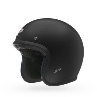 BELL CUSTOM 500 MATT BLACK OPE FACE HELMET