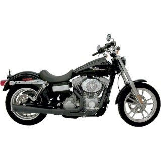 SUPERTRAPP SUPERMEG 2-IN-1 BLACK EXHAUST FOR HARLEY DYNA 2006-2011