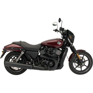 "SUPERTRAPP STOUT 4"" BLACK SLIP-ON MUFFLER HARLEY XG 2015-2020"