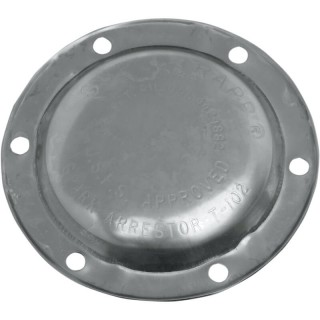 "SUPERTRAPP 4"" STAINLESS STEEL END CAP"